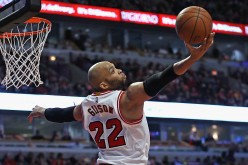 Chicago Bulls power forward Taj Gibson.