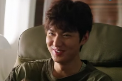 Lee Min Ho smiles in one of the scenes of