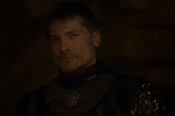 Jaime Lannister (Nikolaj Coster-Waldau) watches his twin sister proclaimed to be the new queen of the seven kingdoms.