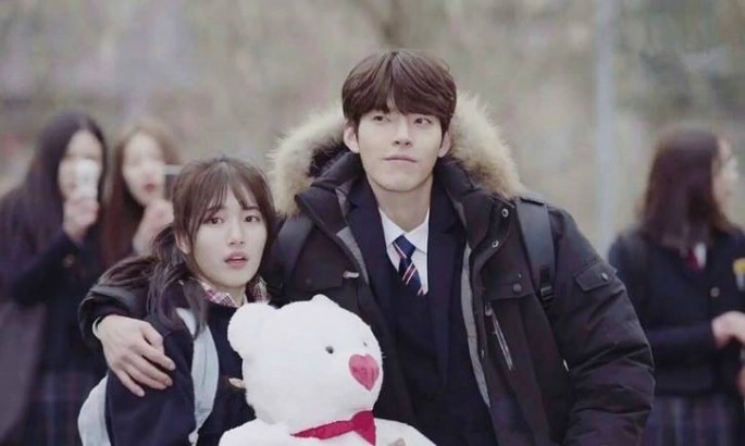 Miss A's Bae Suzy and Kim Woo Bin star in the KBS 2TV drama 'Uncontrollably Fond.'
