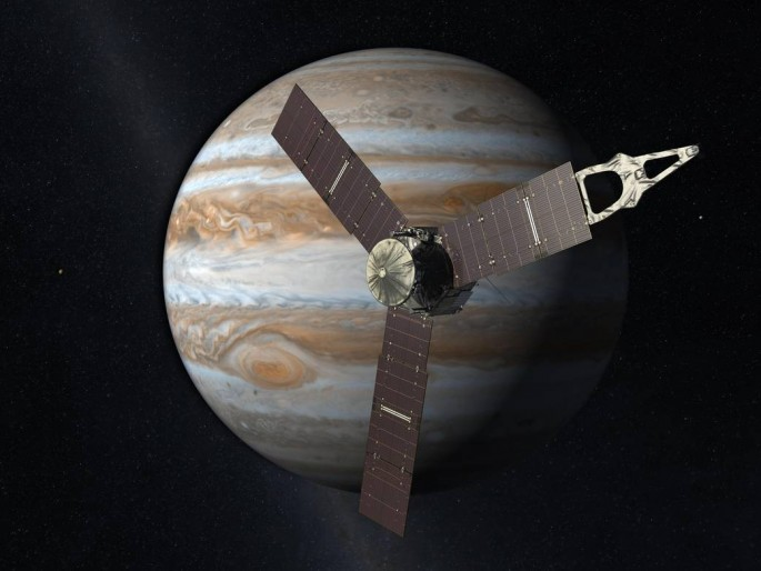 Juno probe arrives in Jupiter today, with a successful orbital insertion around the gas giant.