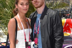 Alicia Vikander and Michael Fassbender attend the Infiniti Red Bull Racing Energy Station at Monte Carlo on May 24, 2015 in Monte Carlo, Monaco.