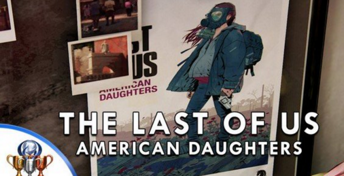 """The Last of Us 2"" was implicitly confirmed when an image of a gas wearing pregnant woman appeared in the last scenes of ""Uncharted 4,"" wherein the caption reads ""The Last of Us - American Daughters."""