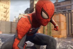 Insomniac Games' Spider-Man tackles a criminal in the nick of time before he commits a crime.