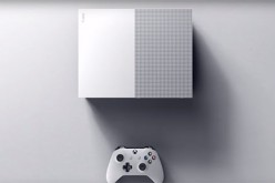 Microsoft reveals the upcoming Xbox One S console, which will be slimmer compared to the original Xbox One console.