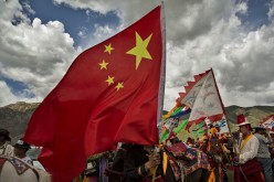 Experts claim that the development of Tibet is a product of the government's massive efforts to boost its productive enterprises.
