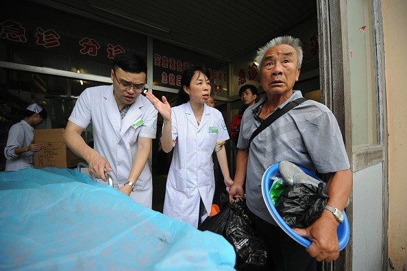 China sees an increase in the number of cases of hospital violence, where angry patients abuse medical staff.