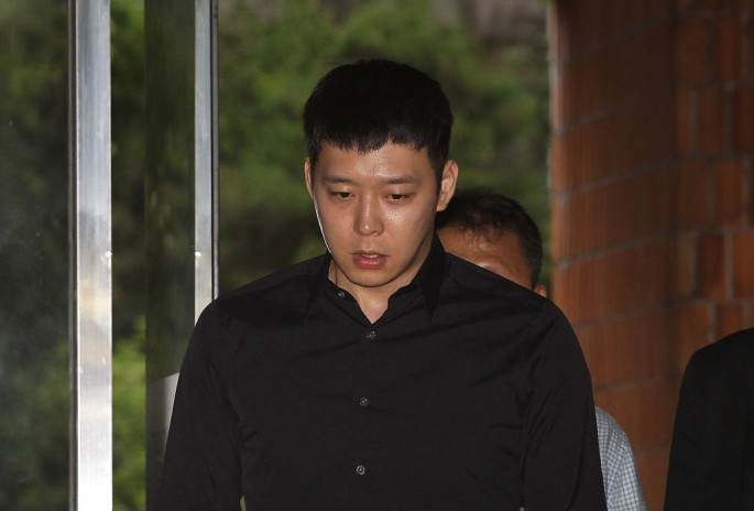 K-pop Star Park Yoo-chun Appears At Police For Questioning Over Rape Allegations