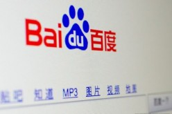 Baidu's home page. New regulations on internet advertising are expected to affect the Chinese search engine giant's revenues.