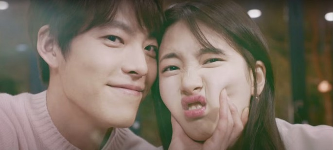 'Uncontrollably Fond' is a South Korean television series starring Kim Woo-bin and Bae Suzy.