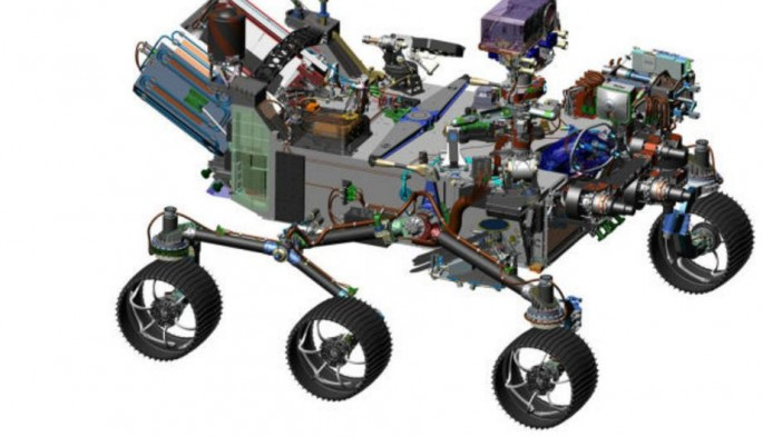 Mars 2020 rover, the new Martian explorer from NASA.