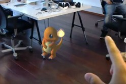 Pokemon Go on HoloLens AR/VR Headset