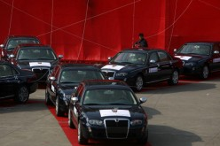 GM, SAIC deliver first sponsored vehicles to Shanghai World Expo.