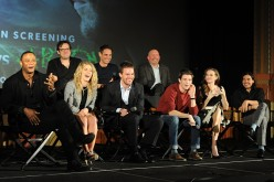 The cast of 'Arrow' and 'Flash' attend a special screening for the CW's 'Arrow' And 'The Flash' at Crest Theatre on November 22, 2014 in Westwood, California.