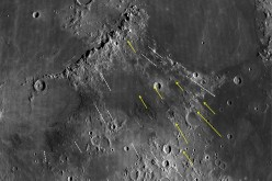 Grooves and gashes associated with the Imbrium Basin on the Moon have long been puzzling. New research shows how some of these features were formed and uses them to estimate the size of the Imbrium impactor. The study suggests it was big enough to be cons