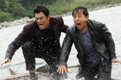 Jackie Chan & Johnny Knoxville in the Skiptrace trailer