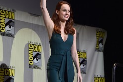 Actress Brie Larson announced as Captain Marvel/Carol Danvers attends the San Diego Comic-Con International 2016 Marvel Panel in Hall H on July 23, 2016 in San Diego, California