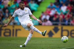 Real Madrid striker Karim Benzema.
