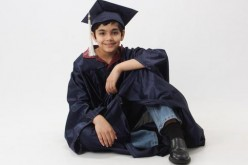 Child prodigy Tanishq Abraham, who graduated with three degrees from the American Rover College in Sacramento when he was just 11 years old.