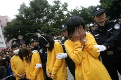 Prostitution is a major criminal offense in China.