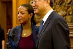 U.S. National Security Adviser Susan Rice visits Beijing.