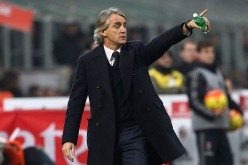 Inter Milan head coach Roberto Mancini.