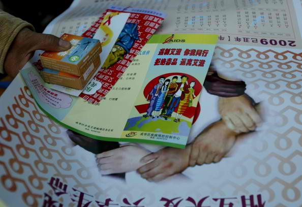 China celebrates World AIDS Day annually to spread information about the disease.