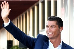 Cristiano Ronaldo during the opening of the new 'Pestana CR7 Funchal' Hotel owned by Cristiano Ronaldo on July 22, 2016 in Funchal, Madeira, Portugal.