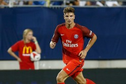 Paris Saint-Germain defender Thomas Meunier.
