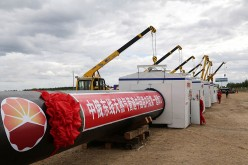 China started building the Chinese section of the China-Russia natural gas pipeline in June last year.