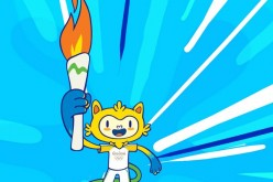Vinicius, the official mascot for the 2016 Rio Olympics, will appear in the various merchandise for the Games.