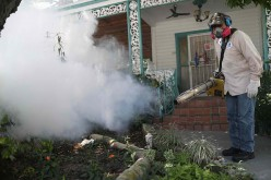 Residents in Florida fight Zika through fumigation.