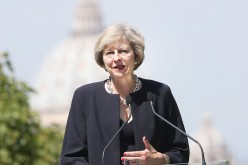British Prime Minister Theresa May announced on Friday that her government will review again a nuclear project financially backed by a Chinese firm.