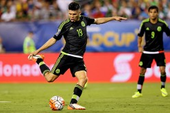 Mexican striker Oribe Peralta.