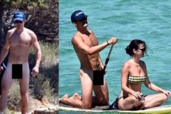 Orlando Bloom and Katy Perry were on holiday in Italy when naked pics of Bloom leaked on the internet.