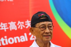 Former Philippine President Fidel Ramos is in Hong Kong to