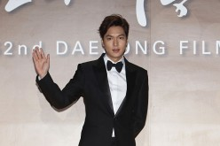 Lee Min Ho attends the 52nd Daejong Film Awards at KBS on November 20, 2015 in Seoul, South Korea.