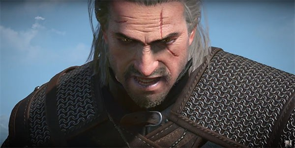 """The Witcher 3: Wild Hunt"" main protagonist Geralt readies himself for another monster battle ahead of him."