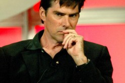 Actor Thomas Gibson attends the panel discussion for 'Criminal Minds' during the CBS 2005 Television Critics Association Summer Press Tour at the Beverly Hilton Hotel on July 20, 2005 in Beverly Hills, California.