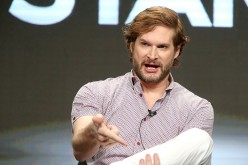 Writer/showrunner/executive producer Bryan Fuller speaks onstage during the 'American Gods' panel discussion at the Starz portion of the 2016 Television Critics Association Summer Tour.