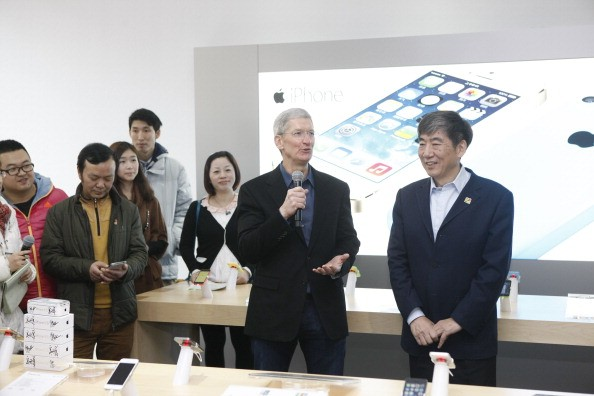 Apple CEO Tim Cook reveals plan to build a research and development center in China.