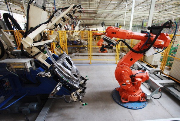 Chinese factories turn to automation to solve workforce crisis.