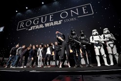 'Rogue One' stars Forest Whitaker, Mads Mikkelsen, Alan Tudyk, Wen Jiang, Donnie Yen, Felicity Jones, Riz Ahmed, Diego Luna, Ben Mendelsohn and Gwendoline Christie attend Star Wars Celebration 2016.