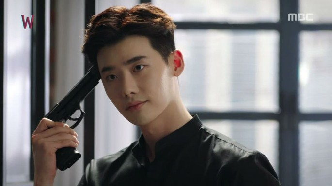 W - Two World' star Lee Jong Suk nabs serial kill
