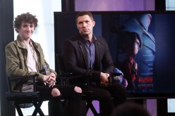 Art Parkinson and Travis Knight discuss 'Kubo and the Two Strings' at AOL HQ on August 17, 2016 in New York City.