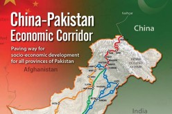 The China-Pakistan Economic Corridor where much of Chinese-funded infrastructure and energy projects are being put up.