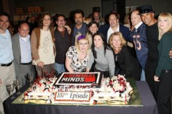 The cast attends the 100th episode celebration for the television show 'Criminal Minds' on October 19, 2009 in Los Angeles, California.