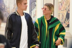 Justin Bieber and Sofia Richie are seen at Yaesu shopping mall on August 14, 2016 in Tokyo, Japan.
