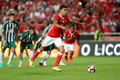 Mexico and Benfica forward Raul Jimenez.