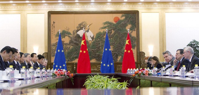 EU businesses want reciprocity from China.